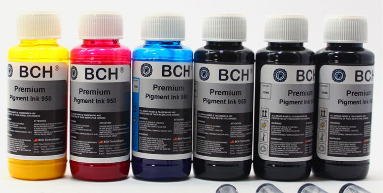 Пигмент инк, Pigment ink фото
