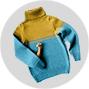 Детские кофты и свитеры